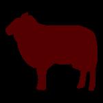 lamb - large distressed