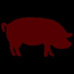 pork - large distressed